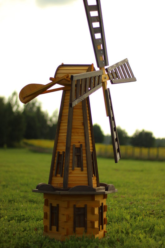 Dzirnavas 170 cm Gaišās
