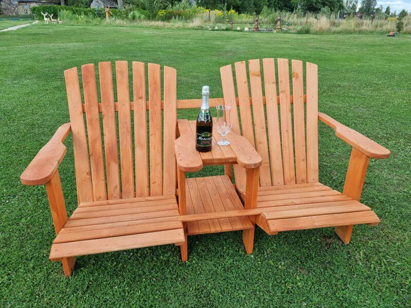 Krēsls Atpūtas koka